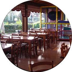 attrazioni e giochi per bambini nei ristoranti e pizzerie